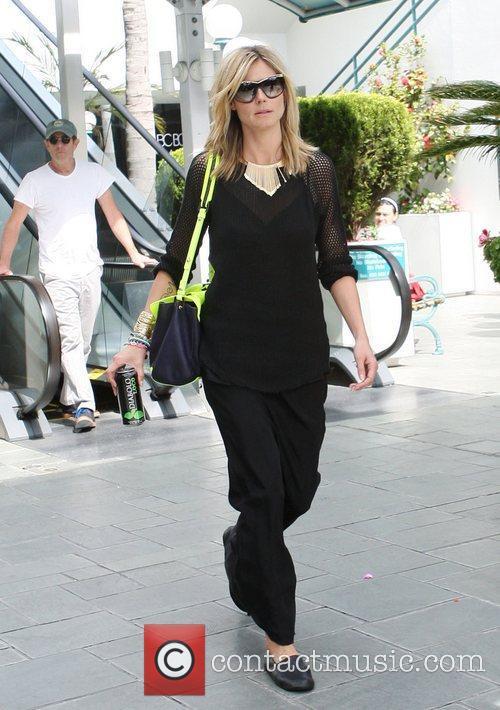 Heidi Klum leaving Ballet class in Brentwood Los...