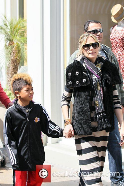 heidi klum and her family spend the 3797723