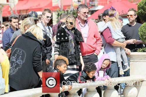 heidi klum and her family spend the 3797736