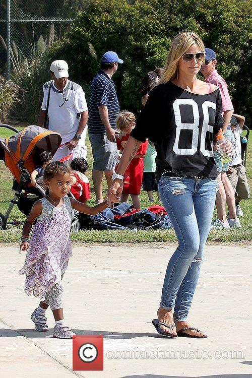 heidi klum and daughter lou samuel heidi 5923166