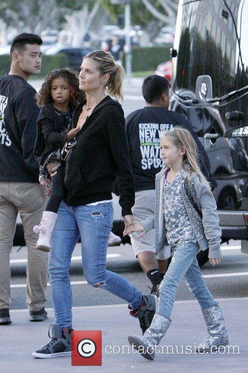 Lou Samuel, Heidi Klum and Leni Samuel 1