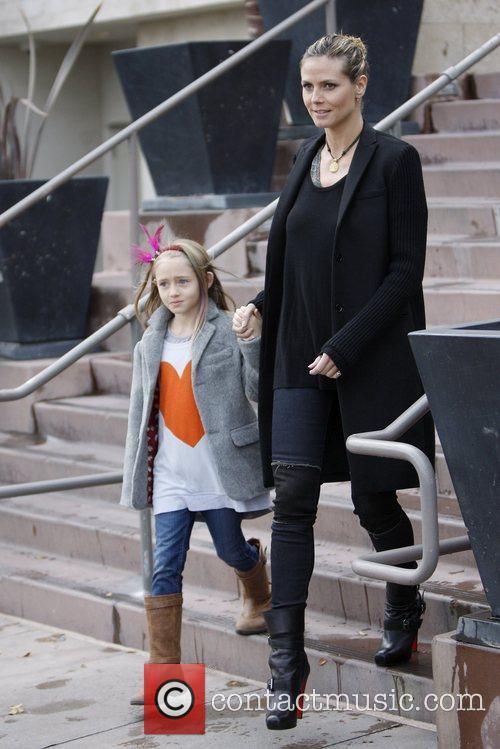 Heidi Klum and Leni Samuel 6