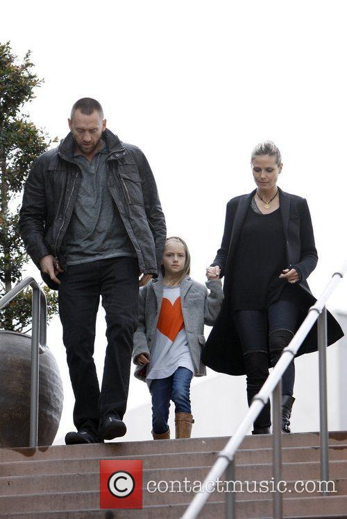 Martin Kirsten, Heidi Klum and Leni Samuel 4