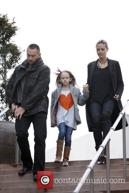 Heidi Klum, Martin Kirsten and Leni Samuel 2