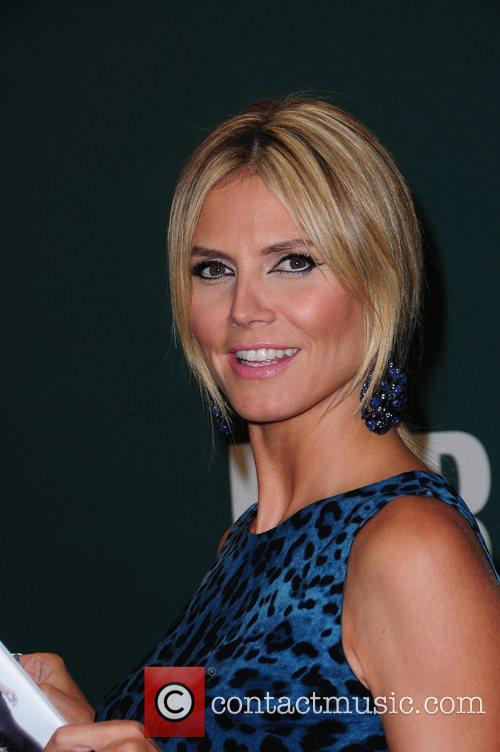 heidi klum promotes her new book project 5878659