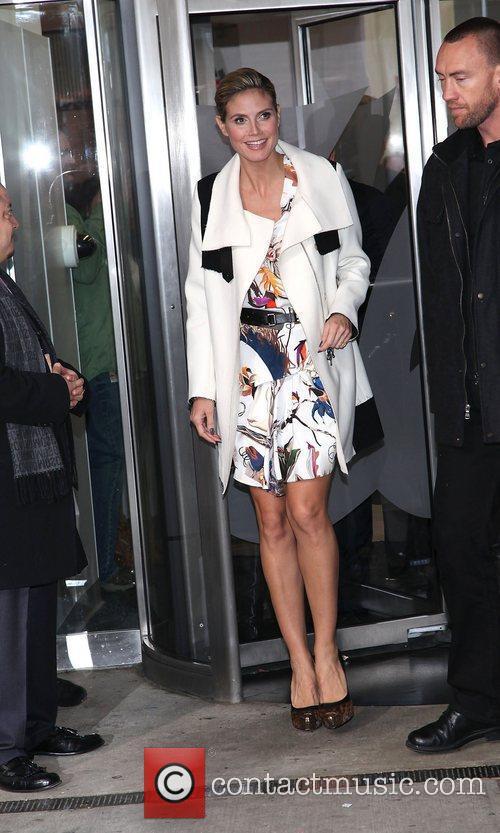 Heidi Klum and Times Square 2