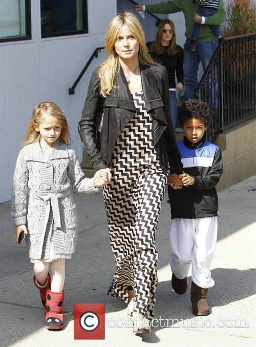 heidi klum picking up daughter leni klum 3737407