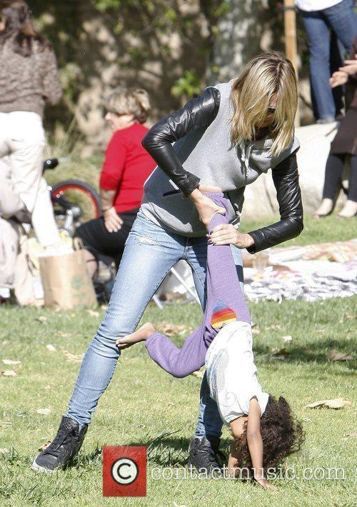 heidi klum with daughter lou sulola samuel 3829604
