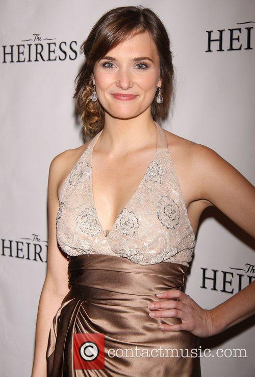Attending the Broadway opening night after party for...