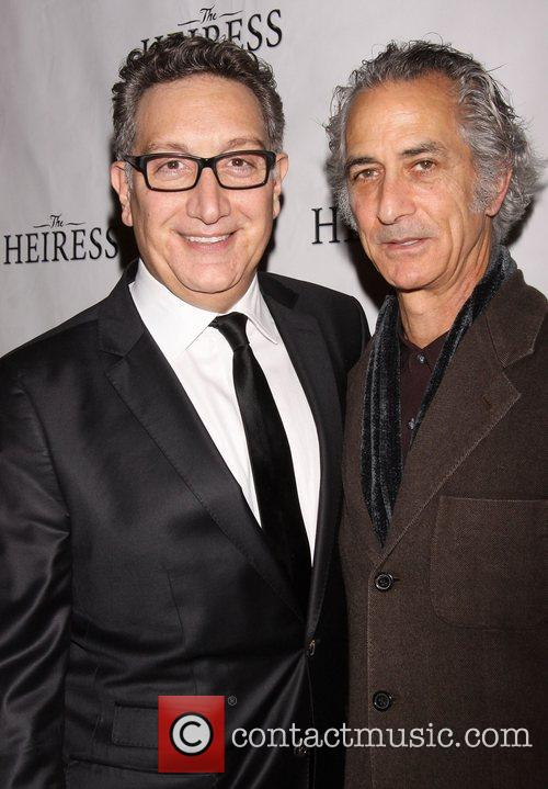Moises Kaufman and David Strathairn