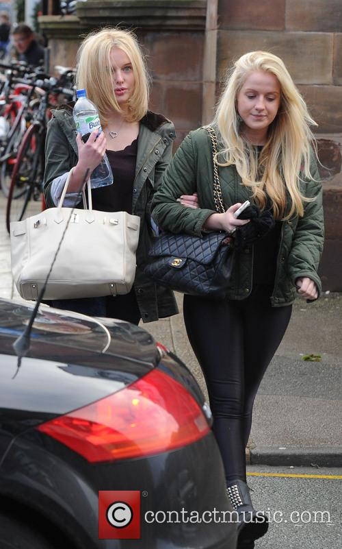Helen Flanagan Helen Flanagan leaves the Style Lounge...