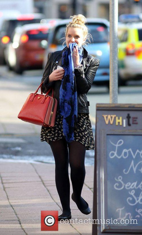 Helen Flanagan  shopping in Wilmslow. She spent...