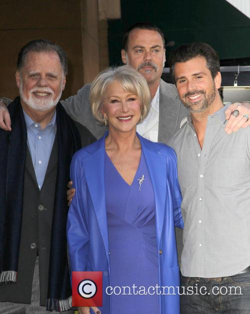 Taylor Hackford and Dame Helen Mirren 10