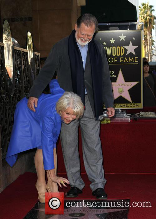 Taylor Hackford and Dame Helen Mirren 9