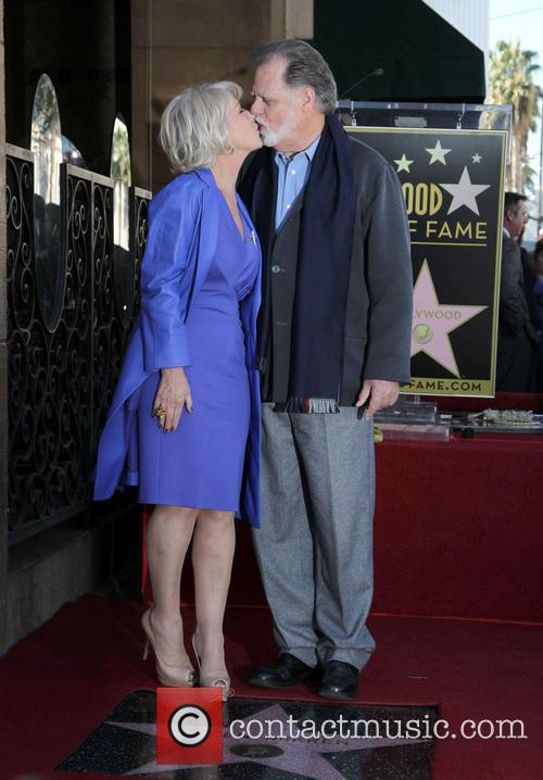 Taylor Hackford and Dame Helen Mirren 1