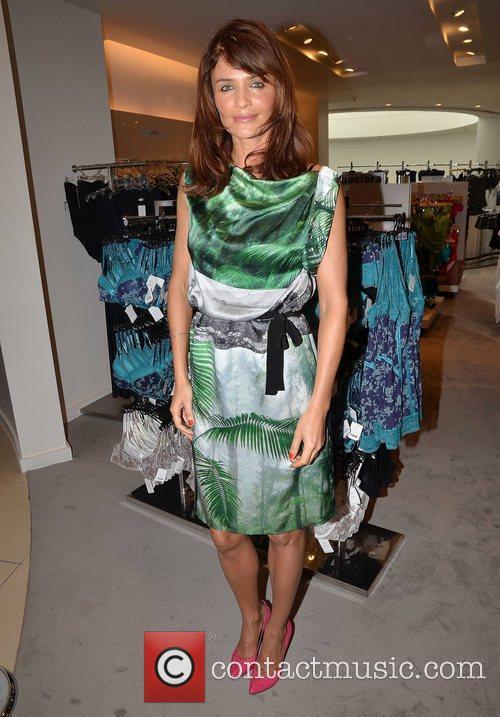 Helena Christensen  launches the luxury lingerie brand...