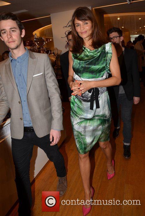 Helena Christensen  Helena Christensen launches the luxury...