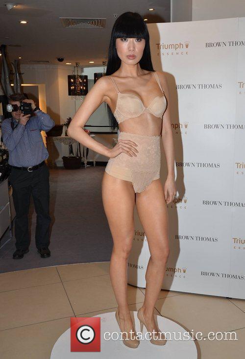 Yomiko Chen Helena Christensen launches the luxury lingerie...
