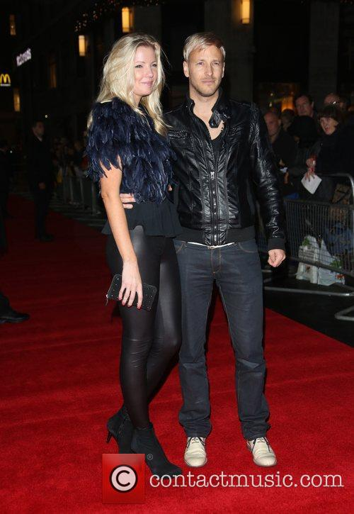 Rick Parfitt Jnr with his girlfriend Hello Quo...