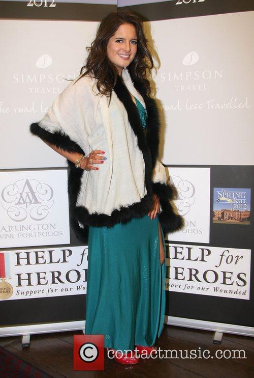 Alexandra Felstead aka Binky Help for Heroes 2012...