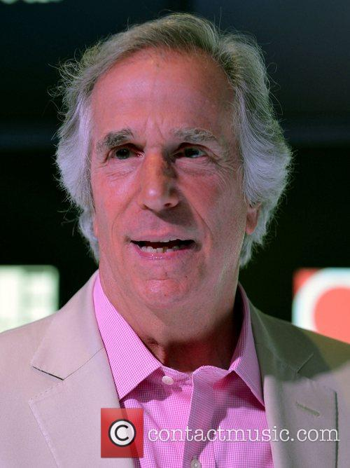 Henry Winkler meets and greets fans and donates...