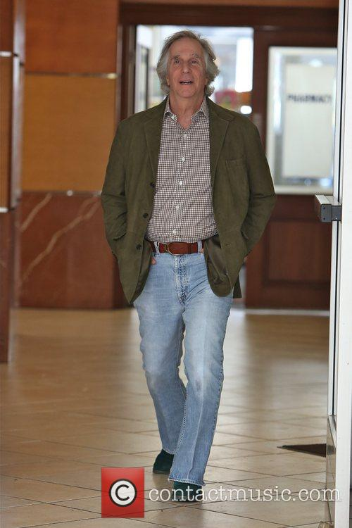 Henry Winkler leaving E Baldi in Beverly Hills...