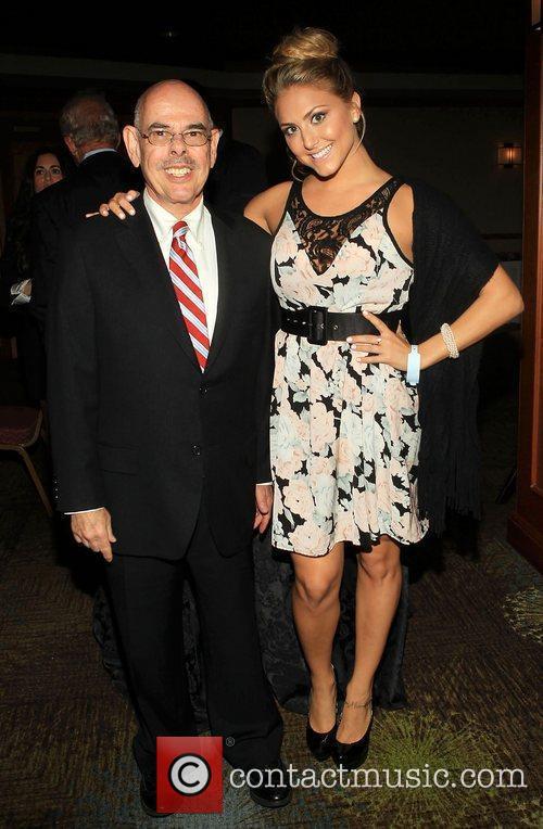 Congressman Henry Waxman and Cassie Scerbo  ,...