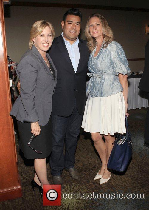 LA City countroller Wendy Greuel, Assemblymembers Ricardo Lara...