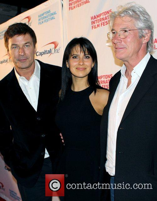Alec Baldwin, Hilaria Thomas and Richard Gere 8