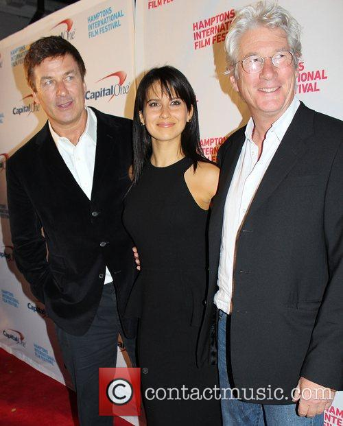 Alec Baldwin, Hilaria Thomas and Richard Gere 4