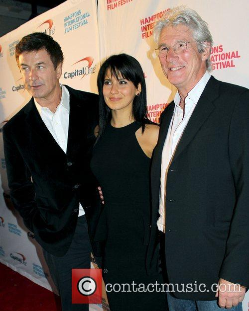 Alec Baldwin, Hilaria Thomas and Richard Gere 5