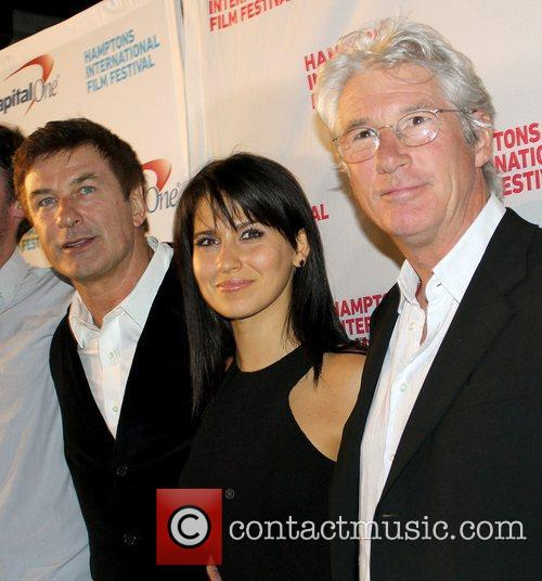 Alec Baldwin, Hilaria Thomas and Richard Gere 9