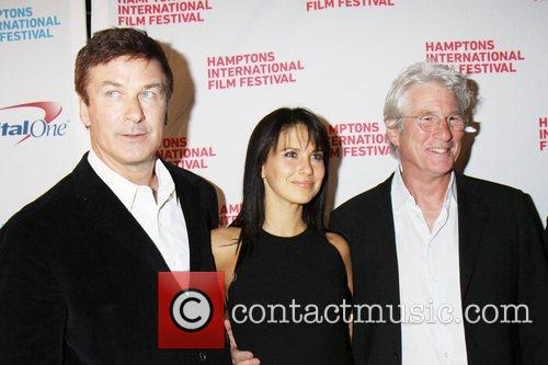 Alec Baldwin, Hilaria Thomas and Richard Gere 10