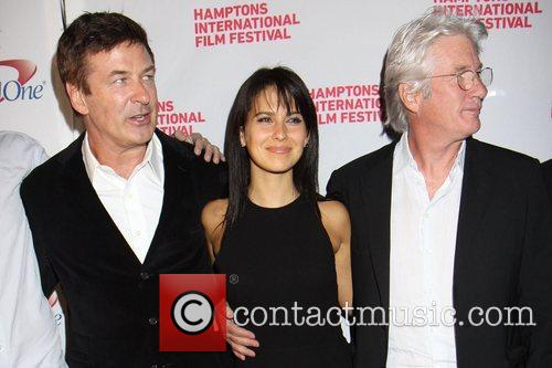 Alec Baldwin, Hilaria Thomas and Richard Gere 1