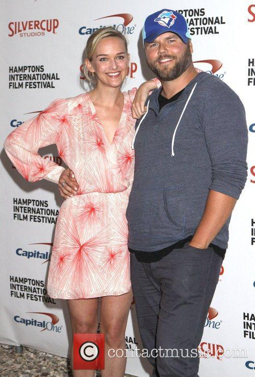 Jess Weixler and Tyler Labine
