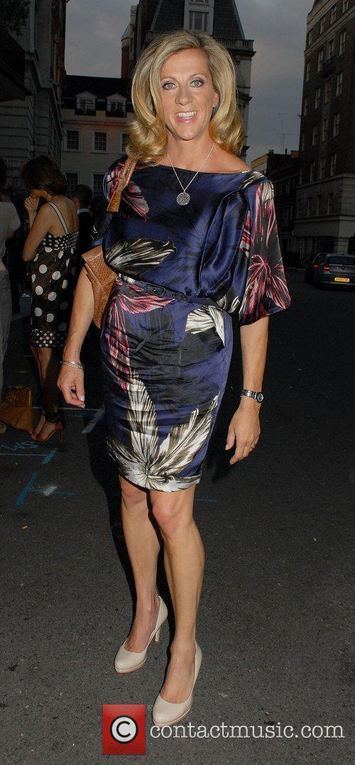 Sally Gunnell  at the launch of Hideaways...