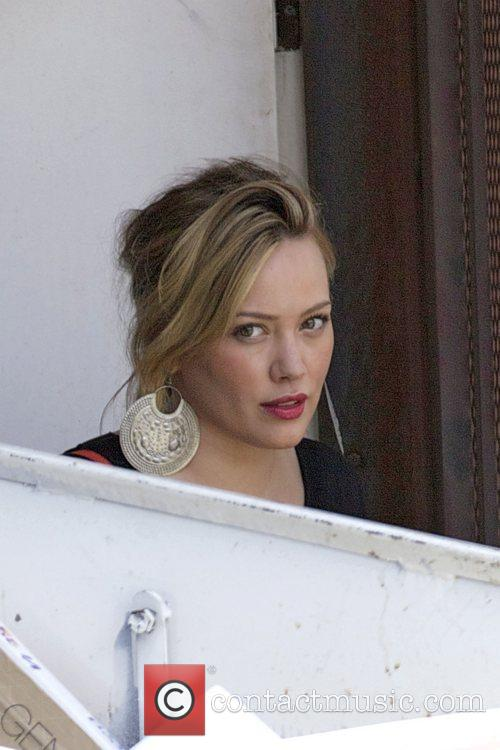 hilary duff out shopping for clothes at 5876342
