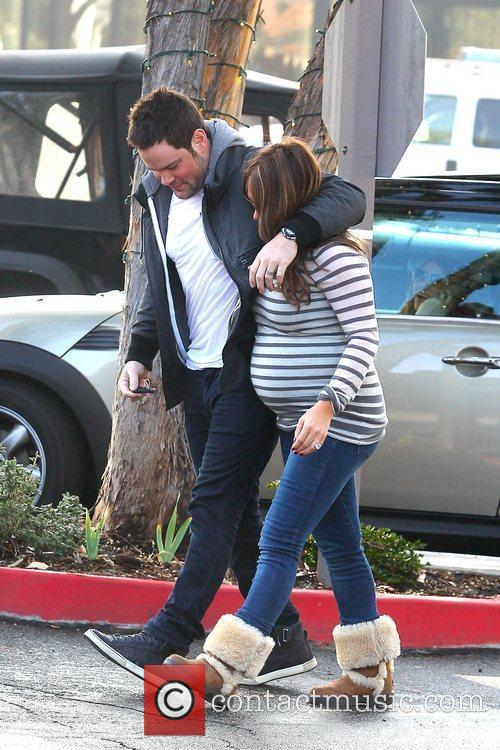 Hilary Duff and Mike Comrie 2