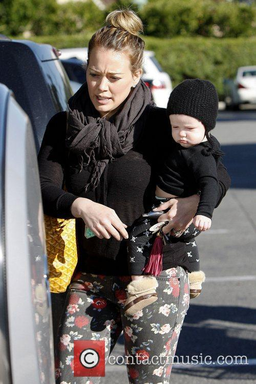 Hilary Duff and Luca Cruz Comrie 1