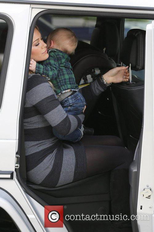 Hilary Duff and Luca Cruz Comrie 12