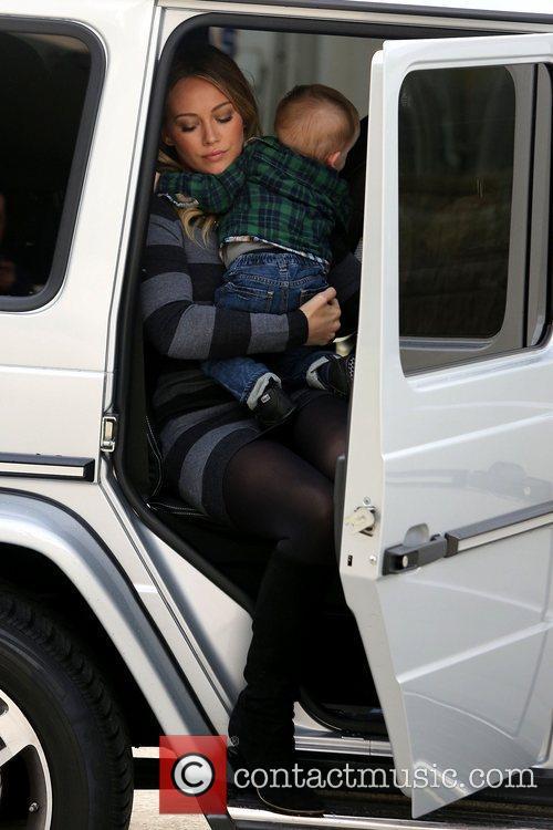 Hilary Duff and Luca Cruz Comrie 13