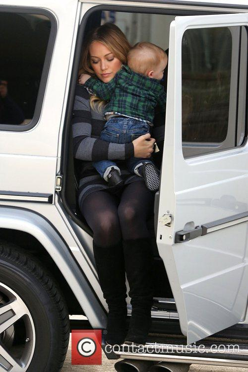 Hilary Duff and Luca Cruz Comrie 14