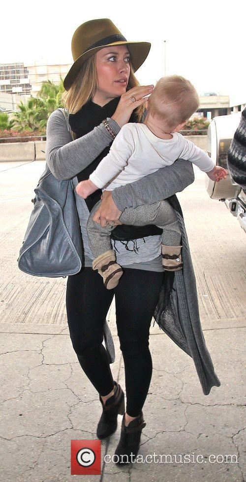 Hilary Duff and Luca Cruz Comrie 9