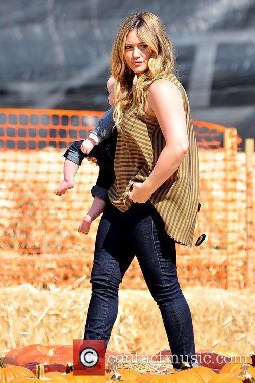 Hilary Duff and Luca Cruz Comrie 2