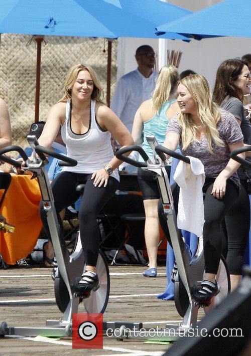 haylie duff and hilary duff new mom 5857725
