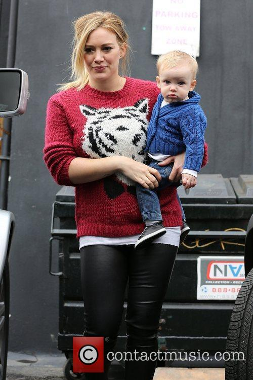 Hilary Duff and Luca Comrie 5