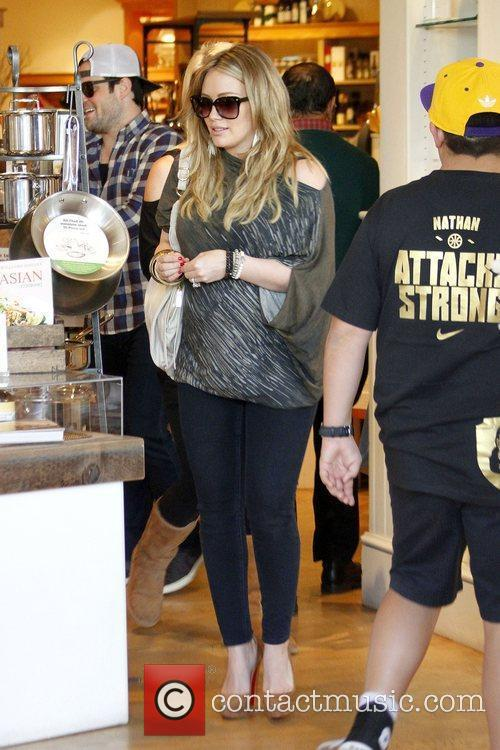Mike Comrie and Hilary Duff 2