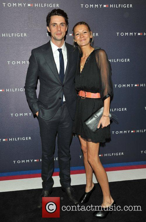 matthew goode and guest tommy hilfiger store 3636039