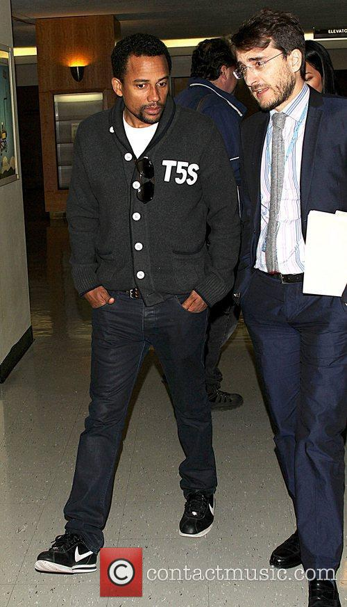 Hill Harper at the United Nations.