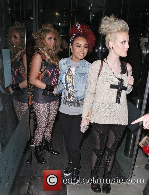 Left to Right: Jesy Nelson, Leigh-Anne Pinnock and...